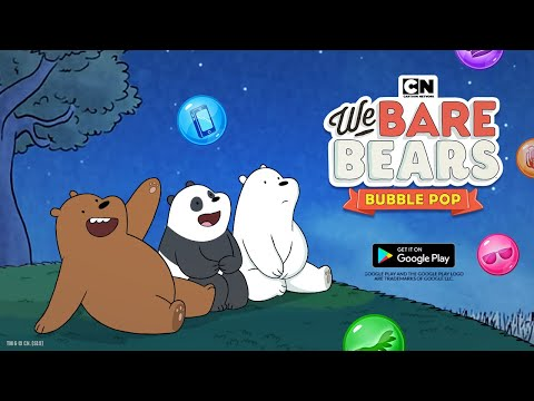 FREE New Mobile Game | We Bare Bears Bubble Pop | Early Access | Download Now | Cartoon Network