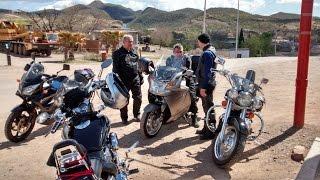 Cucurpe, Sonora, Mexico, Rodada en el Pueblo con Los Retro Bikers   Marzo 8 del 2015
