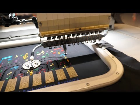 ZSK E-Textile Embroidery Machines Incorporate Sensors And Flexible Substrates