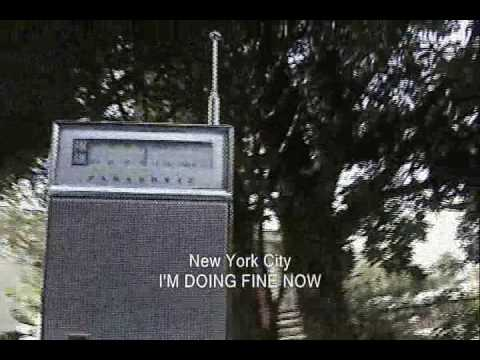 NEW YORK CITY:  I'M DOING FINE NOW (1973)