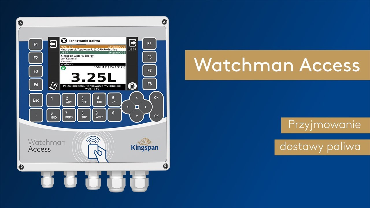 Download Jak przyjmować dostawę paliwa? Watchman Access FAQ