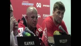 """Федор Емельяненко: """"Я слышал голос Хабиба. Но слушал своих тренеров"""""""