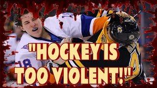 "Video ""HOCKEY IS TOO VIOLENT!"" download MP3, 3GP, MP4, WEBM, AVI, FLV Juni 2018"
