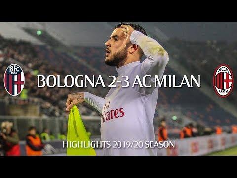 Highlights   Bologna 2-3 AC Milan   Matchday 15 Serie A TIM 2019/20