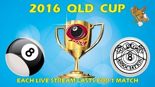 2016 Qld Cup - Men's 8 Ball Team - All Stars v Gold Coast 10:30pm