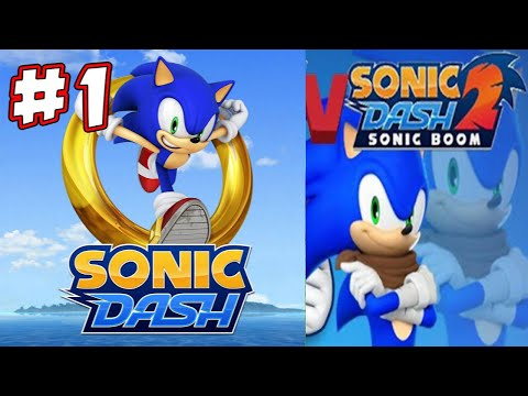 Sonic Dash Vs Sonic Dash 2: Sonic Boom IOS Gameplay / 60 Fps