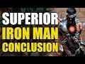 Superior Iron Man vs All Iron Man Armors (Superior Iron Man Conclusion)