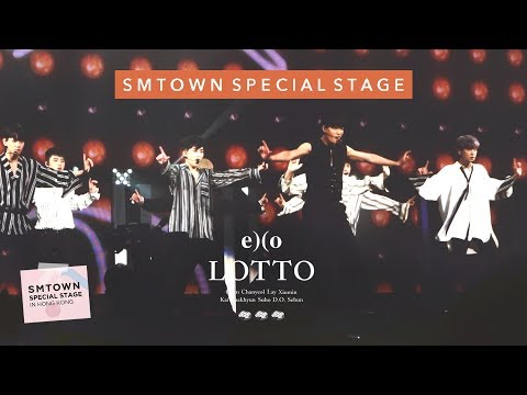 EXO - Lotto | 170805 SMTOWN Special Stage in Hong Kong