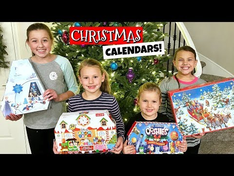 Download Youtube: OPENING ALL OUR CHRISTMAS ADVENT CALENDARS! FAMILY VLOG