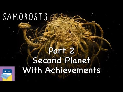 Samorost 3: iOS Walkthrough Guide Part 2 Second Planet + All Achievements! (by Amanita Design)