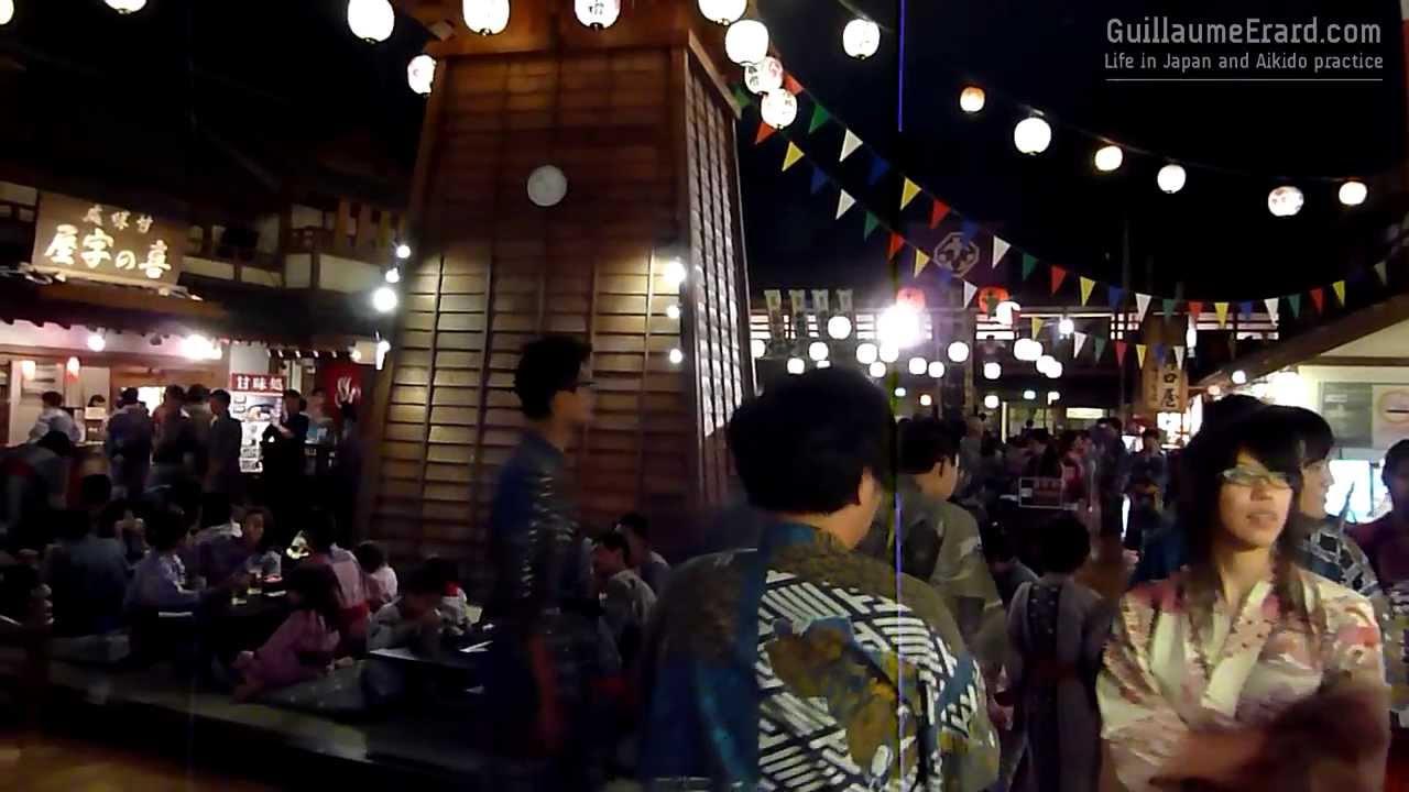 Oedo Onsen Monogatari Tokyo Odaiba Youtube
