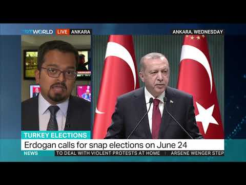 Turkish parliament approves snap elections