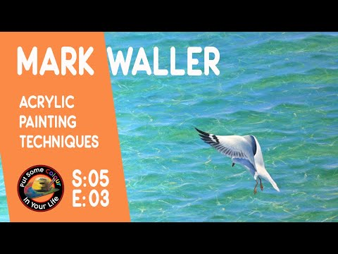 Fine art tips on How To Paint Seascapes and Learn Shading from Mark Waller on Coloour In your Life