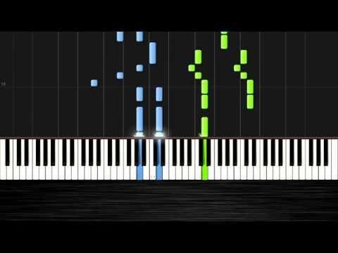 Enrique Iglesias - Bailando - Piano Tutorial by PlutaX - Synthesia