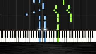 Enrique Iglesias - Bailando - Piano Tutorial by PlutaX - Synthesia