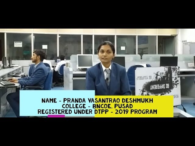 Pranda Deshmukh's Live Review of DTPP program...