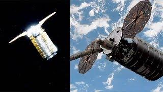NG CRS-10: SS John Young Cygnus capture