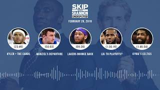 UNDISPUTED Audio Podcast (2.28.19) with Skip Bayless, Shannon Sharpe & Jenny Taft | UNDISPUTED