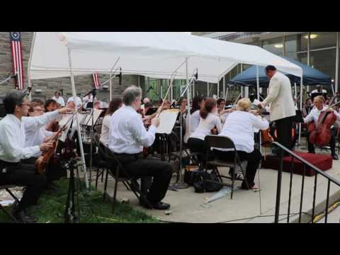 Central Ohio Symphony Orchestra 2016 Fourth of July Concert at Ohio Wesleyan University