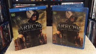 Arrow: The Complete Fourth Season Blu Ray Unboxing and Review