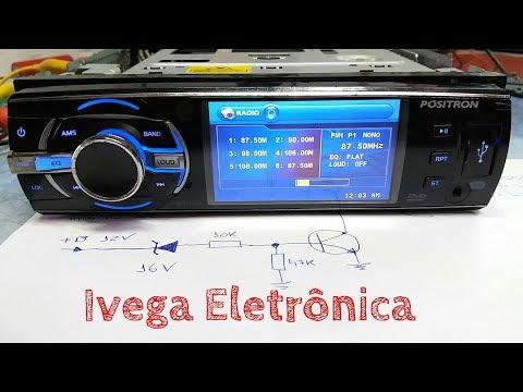 Como funciona sistema de proteção de tensão de um rádio