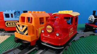 LEGO Duplo Cargo and Steam Trains