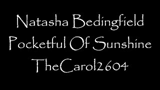 Natasha Bedingfield - Pocketful Of Sunshine (lyrics)