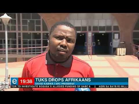 University of Pretoria drops Afrikaans