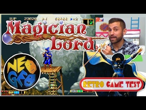 Les origines de Magician Lord et de la Neo-Geo - Retro Game Test
