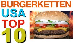 🍔 Burger Restaurants : TOP 10 USA ! 🇺🇸