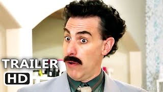 BORAT Supplemental Reportings Trailer (NEW, 2021) Sacha Baron Cohen, New Borat Movie HD
