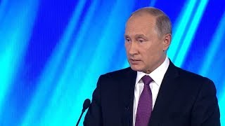 Only one democratic way to fight against what you disagree with' – Putin