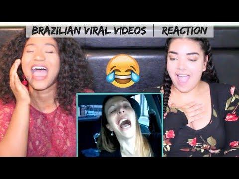 *HILARIOUS* Canadians REACTING to Brazilian Viral s