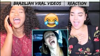 *HILARIOUS* Canadians REACTING to Brazilian Viral Videos!