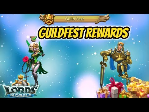 Lords Mobile - Guildfest Rewards - Did You Get Anything Good?