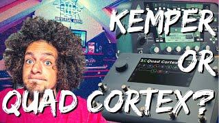 Quad Cortex Capture vs Kemper Profiler   Comparison