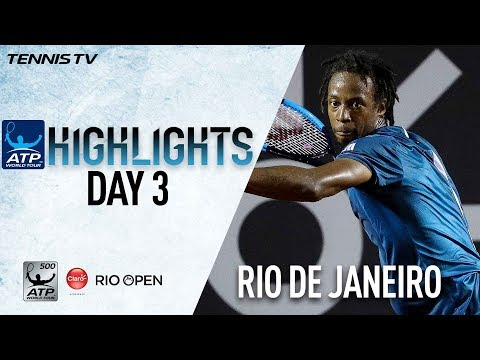 Watch Highlights: Monfils In Close Contest Against Cilic