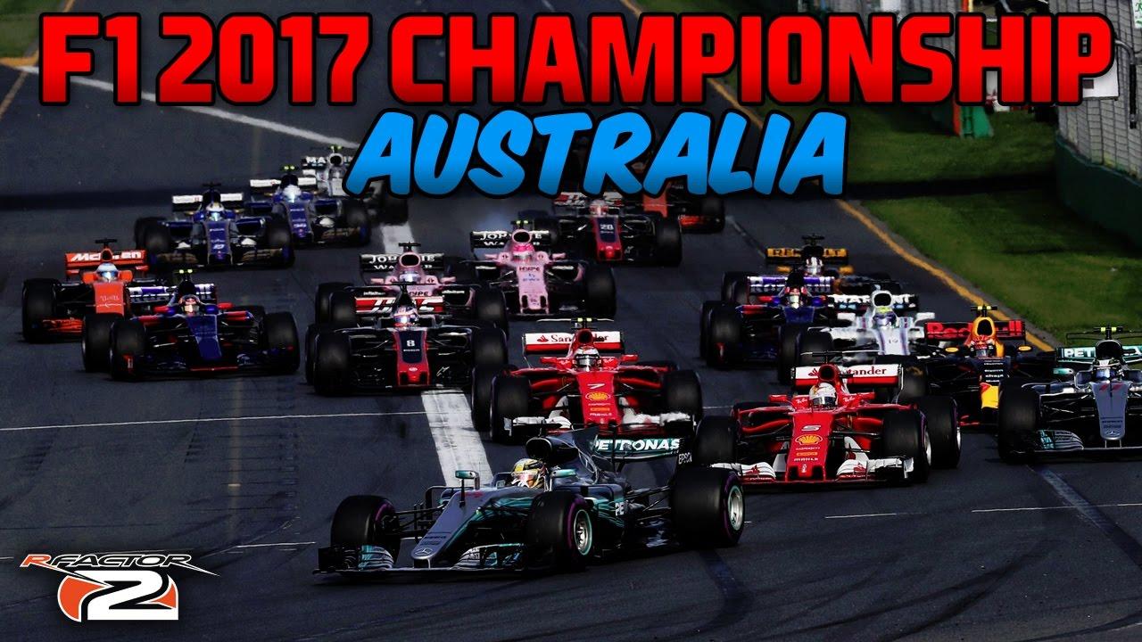 rFactor F1 2017 NRL - Round 1 - Australian Grand Prix