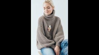 Модные Женские Джемпера и Пуловеры Спицами - 2018 / Fashionable Women's Sweaters and Pullovers