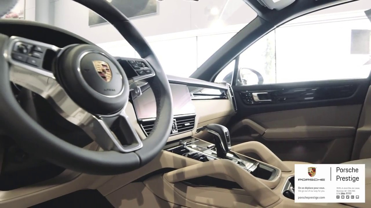2019 Porsche Cayenne Biscay Blue On Mojave Beige Youtube