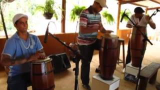 Gravação do CD Xirê Àlágbé - Cantando para Oxun