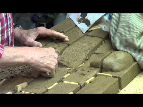 Brick Relief Sculpture -- Part 4 - Detailed Carving