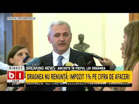 Liviu Dragnea, atac la adresa Codruței Kovesi: Mă aștept să fiu audiat și dacă plouă