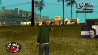 Grand Theft Auto: San Andreas HD playthrough pt28 - Getting Equipped/Gang War Time!