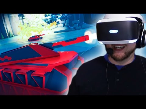 OMG This game is so cool | BattleZone VR (PLAYSTATION VR)