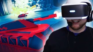 OMG This game is so cool   BattleZone VR (PLAYSTATION VR)