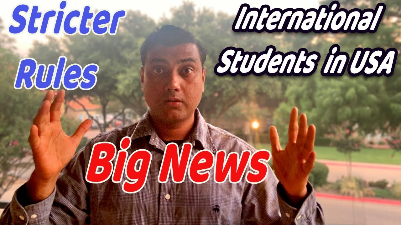 Big News for Fall 2020! International Students Must Know | Detailed Explanation