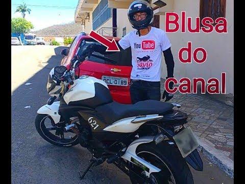 Quem me expirou a ser motovlog blusa do canal Sávio Da CB 300 Baturité ce