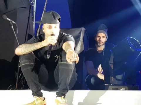 Nicky Jam improvisa con nombres de Fans #1 (28/06/17 El Santo, Mendoza)