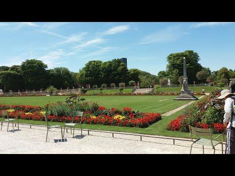 Lüksemburg Bahçesi / Le Jardin du Luxembourg / Luxembourg Garden Paris Fransa / France